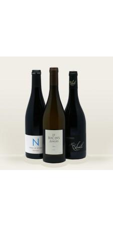 vin du Languedoc en coffret Pisteur de Crus 3, 6 ou 9 bouteilles