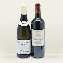 coffret vin grand cru - coffret cadeau vin grand cru
