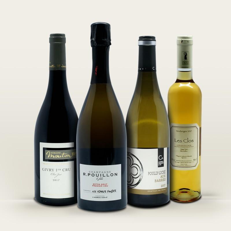 coffret vin cadeau de Noel - vins de Noel