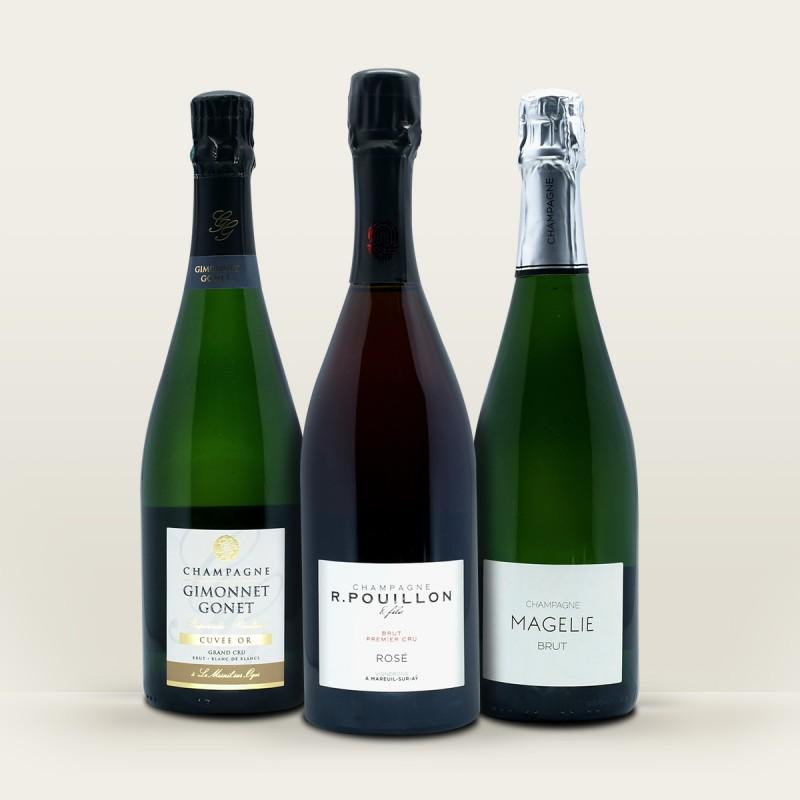 coffret champagne | meilleurs champagnes de vignerons
